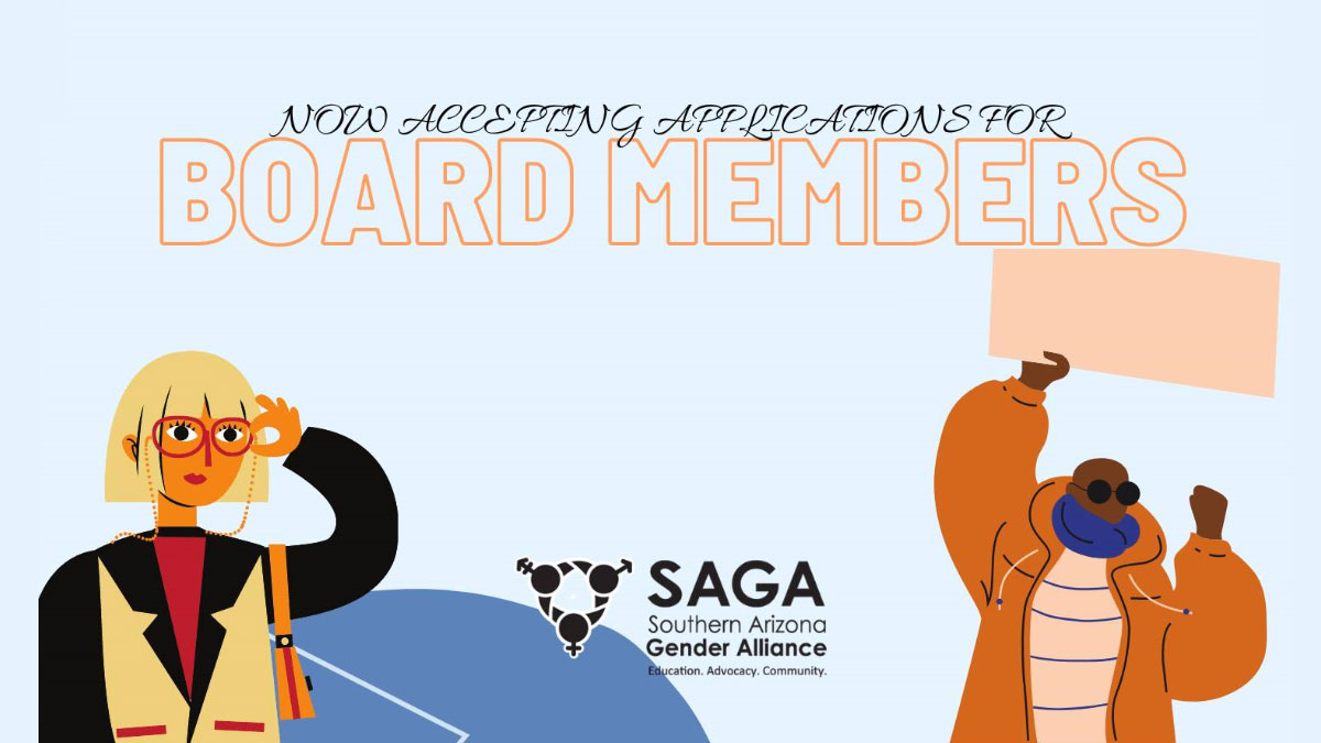 SAGA accepting applications for Board Members