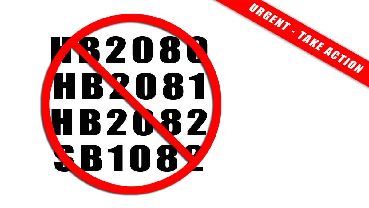 Urgent - Take Action Oppose AZ House Bills 2080, 2081, 2083 and Senate Bill 1082