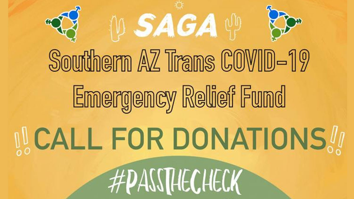 Southern AZ Trans COVID-19 Emergency Relief Fund Call for Donations